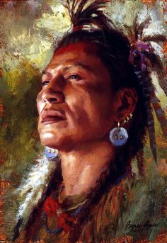 Strength of Spirit, Blackfoot - by James Ayers
