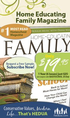 HURRY! Use this coupon code by 7/9  get THIS issue in your mailbox plus 5 more! #homeschool