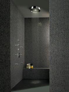 SOFFIONE XL showerhead designed for Zucchetti | Palomba bathroom design | Baños