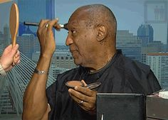Bill Cosby Does His Own Makeup | The Best Celebrity Memes Of 2013