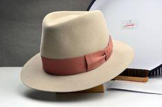 03cb784286304 The Mikey Best - Silverbelly Suede Fur Felt Fedora Hat - Medium Brim - Men  Women
