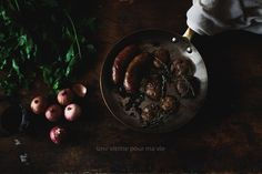 Thyme-Roasted Potatoes with Argentinian Sausages   Une Vitrine Pour Ma Vie