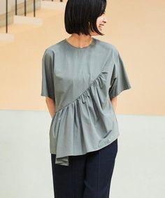 New Blouse Designs, Stylish Dress Designs, Designs For Dresses, Stylish Dresses, Fashion Sewing, Diy Fashion, Ideias Fashion, Fashion Vestidos, Fashion Dresses
