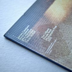 The Citibank Private Bank Photography Prize 2000 #The Photographers' Gallery #London #JamesCasebere #AnnaGaskell #JitkaHanzlová #TimMacmillan #TraceyMoffat #Catalogue #Design #North #Helvetica #Photography #Gallery #Art #Prize #Embossing #Detail #Print #Craft @thephotographersgallery