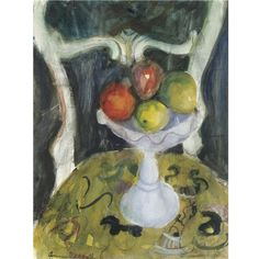 Anne Redpath, dish of fruit