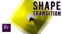 Dynamic Animated Shape Mask Transition Effect Premiere Pro Tutorial