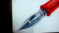 4배속 speed drawing 펜촉 그리기(pen point coloring)4 기초디자인 채색 미술기초