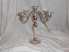 Elegant Antique Roger Williams Sterling Silver 5 Candle Candelabra 1900-1940 #RogerWilliamsGorham