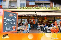 Aperol Spritz France - Grand Café de la Rade - Toulon