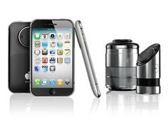 This Beautiful iPhone PRO Concept Has A Sleek Design, Comes With A 3D Camera And A Detachable DSLR Lens!!!!