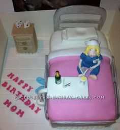 Coolest Nurse Cake... This website is the Pinterest of birthday cake ideas