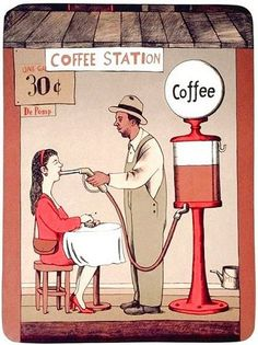 Coffee Station! Fill 'er up with high test!!!