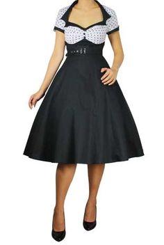 Polkadot Flare Dress