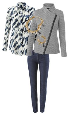 Moody Blues Blouse, Quilted Moto, Knight Skinny Jean #cabiclothing shelbikeith.cabionline.com