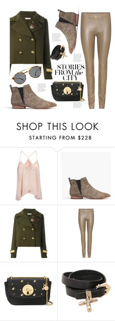 """""""City Lunch"""" by hattie4palmerstone ❤ liked on Polyvore featuring Étoile Isabel Marant, Madewell, P.A.R.O.S.H., The Row, See by Chloé, Mykita and Givenchy"""