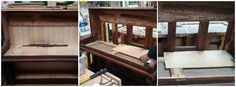 Another project we have begun, is to transform this old Church Piano, into a cocktail cabinet, the Piano was not in the best of conditions and is better suited to be made into something new, we'll keep you up to date with our progress.