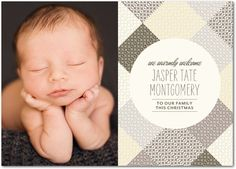 WARMLY WELCOME #baby #birth #announcement