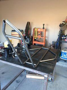 Drift trike build! Drift Trike Frame, Bike Frame, Mini Jeep, Mini Bike, Karting, Drift Kart, Motorized Trike, Homemade Go Kart, Go Kart Buggy