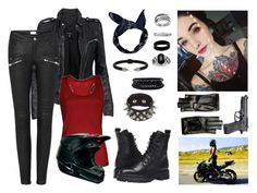 """""""Biker Girl"""" by unknown-style-cxx ❤ liked on Polyvore featuring MuuBaa, Boohoo, Frye, Antigua, West Coast Jewelry, Lord & Taylor, Gucci, Beretta, Vita Fede and Spring Street"""