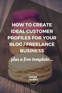 How to create an ideal customer / reader profile for your blog or #freelance #business. How to identify them, mistakes to avoid and how to use them for headlines, content, ads and much more...