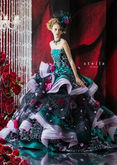 The Japanese designer Stella De Libero focuses on creating breathtaking wedding attire that strays away from your traditional gowns. Description from lionesswomansclub.com. I searched for this on bing.com/images