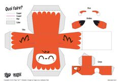 Blog_Paper_Toy_papertoys_Kawaiis_Fox_template_preview