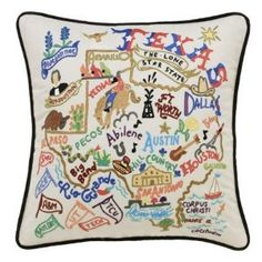 I wonder if I could find a cross stitch pattern for something similar to this.... Not sure I could pay $149 for a pillow.