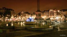 Trafalgar Square. Trafalgar Square at night.  #london #travel #europe  #travelphotographyoftheday #instatravel #travelphotography #toplondonphoto #visitlondon @topeuropephoto #shutup_london #buyprints #forsale #travel_photography