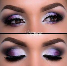 ojos lilas