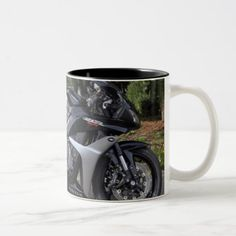 #Honda CBR600RR Two-Tone Coffee Mug - #office #gifts #giftideas #business