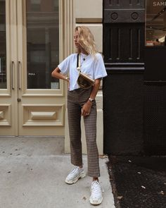2019 outfits Autumn - Fall - Winter jackets - Street Style - A/W - Inspiration - Fashion - Anniken - Annijor - Olsen Twins - Shoes - Boots - OOT. Mode Outfits, Fall Outfits, Casual Outfits, Fashion Outfits, Womens Fashion, Fashion Trends, Fashion Styles, Workwear Fashion, Travel Outfits