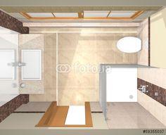 Several views of  luxury bathroom