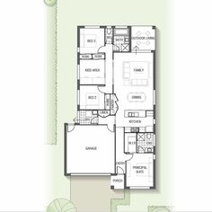 The Norfolk 1228 is available to build in Queensland. The design features three bedrooms and a kids' retreat that could easily transition into a fourth bedroom should your needs change over time | Sekisui House