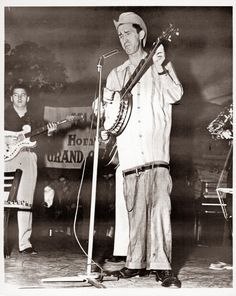 "Dave ""Stringbean"" Akeman: wore his pants like that before it was even a thing. Notice though, his pants are tailored to be down that low."