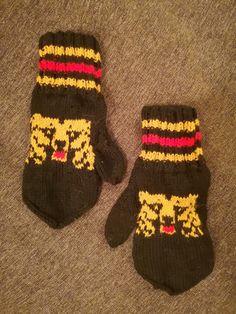 lapaset karhu diy eka kirjoneule mittens 2018 Knitting, Diy, Gifts, Presents, Tricot, Bricolage, Breien, Stricken, Do It Yourself
