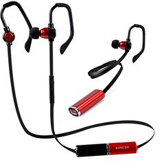 Special Offers - Cheap Bluetooth Headphones KONCEN X17 Bluetooth Wireless Headsets Noise Cancelling Earphones can replace the battery In-ear Stereo Earbuds With Mic for iPhone iPad iPod and Smartphones (Red&Black) - In stock & Free Shipping. You can save more money! Check It (December 04 2016 at 01:27PM) >> http://ift.tt/2g6MeLl