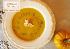 Zupa z dyni z mleczkiem kokosowym i wędzoną piersią z kurczaka to wyśmienita jesienna propozycja w słonecznym żółtym kolorze http://zmgorzyca.pl/index.php/pl/kulinarny/zupy/360-zupa-z-dyni-6