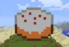 minecraft pixel art | Minecraft Pixel Art- Cake by ~theUNDEADSHARK on deviantART