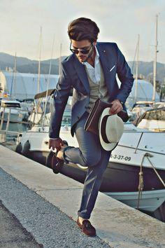 Always put your best foot forward - Suit and Tie gentleman!