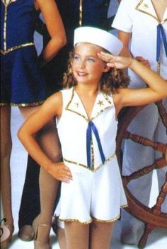 New Sailor Army Soldier Dance Costume White Gold Tap | eBay
