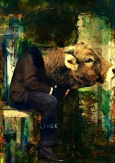 """Saatchi Art Artist CARMEN LUNA; Collage, """"63-COLLAGEMANIA de Carmen Luna."""" #art"""