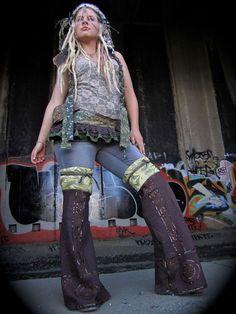 Thigh High Festival Leg Warmers by IntergalacticApparel on Etsy, $36.00