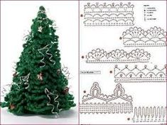 Αποτέλεσμα εικόνας για crochet christmas tree