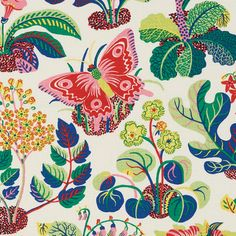 Exotic Butterfly Spring designer pillow covers - Made to Order - Josef Frank for Schumacher Feather Pillows, Floral Pillows, Colorful Pillows, Outdoor Pillow Covers, Decorative Pillow Covers, Sunbrella Fabric, Drapery Fabric, Chair Fabric, Pillow Fabric