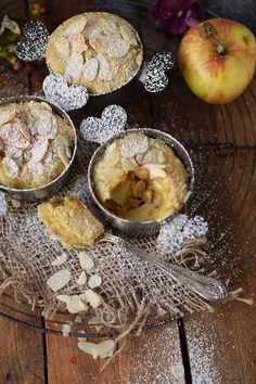 Apfel-Mandel-Auflauf: warm genascht der Himmel auf Erden - Das Knusperstübchen