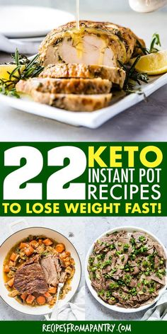 Mar 2019 - This awesome collection of tried and tested Keto Instant Pot Recipes includes a variety of delicious and easy Keto Recipes. So cooking your Keto pressure cooker meals has never been easier! **Click through this pin to get the recipes**. Supper Recipes, Brunch Recipes, Appetizer Recipes, Keto Recipes, Breakfast Recipes, Healthy Recipes, Keto Foods, Diet Breakfast, Pizza Recipes