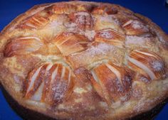This is one of my visitors' most popular recipes.it's a German Apple Cake. Not difficult to make either. Apple Cake Recipes, Delicious Cake Recipes, Pound Cake Recipes, Apple Desserts, Köstliche Desserts, Amish Recipes, German Recipes, Cooking Recipes, German Apple Cake