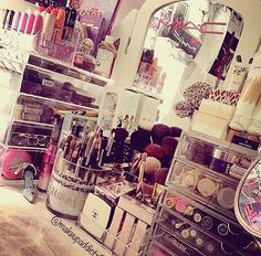 Our Deluxe Beauty Box on the left // SHOP www.originalbeautybox.com