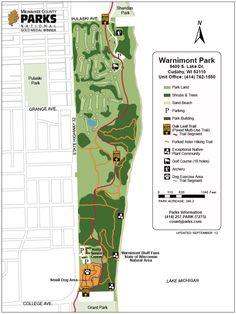 map #WarnimontPark - Cudahy