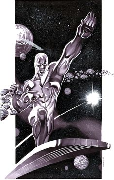 Silver Surfer by Chris Stevens